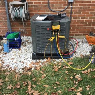 Franklin A/C & Furnace Install