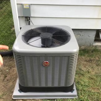 Rheem A/C & Furnace Upgrade