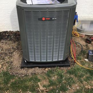 New Trane Unit Installation