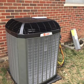 Trane HVAC System Install