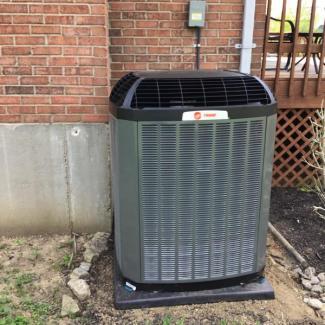 Liberty Township HVAC Install