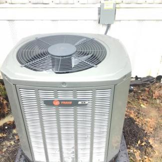 Trane Air Conditioner Install