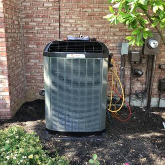 New Trane Heating & Cooling