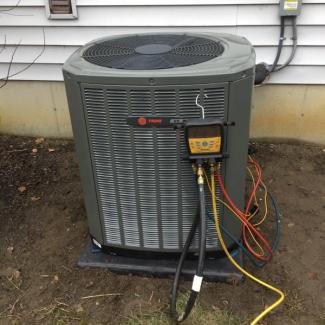 Trane Air Conditioner Upgrade