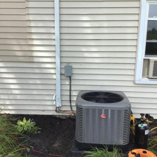 Rheem Air Conditioner Install