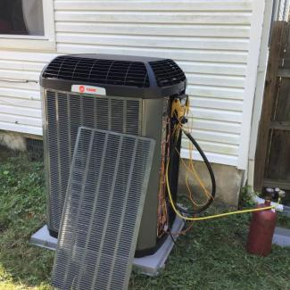 No Cool A/C Replacement