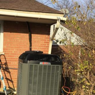 New Trane Heating/Cooling Unit