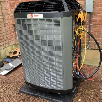 Springboro Heat Pump Install