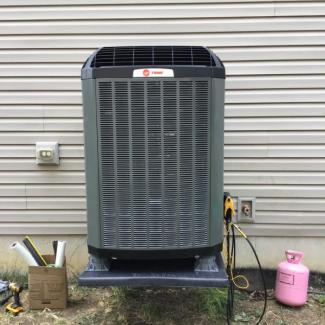 New Trane Heat Pump