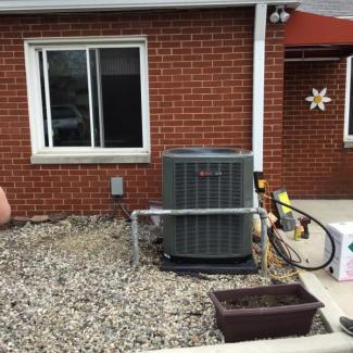 Trane HVAC Unit Install