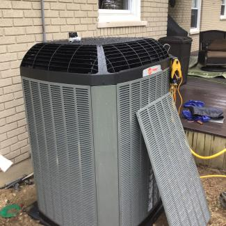 New Heating/Cooling Install