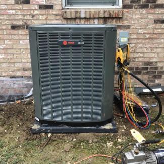 Trane Air Conditioner Upgrade