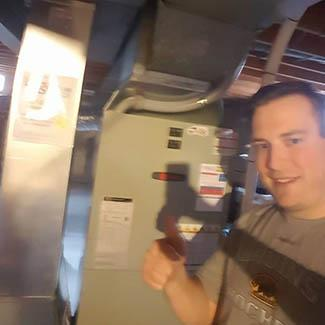 Thomas Dayton Heat Pump & Air Handler Installation
