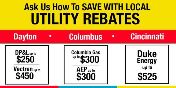 hvac utility rebates